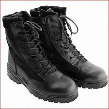 ++ NEU ++ Einsatzstiefel McAllister Patriot , mit Side-Zip ,schwarz , Gr.: 46