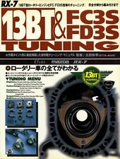 [BOOK] Mazda RX-7 13BT FC3S FD3S tuning manual efini rotary engine Japan
