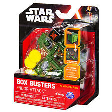 star wars box busters mini playset endor attack