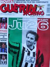 Guerin Sportivo n°12 2000 Juventus Del Piero 26 scudetti  [GS41]