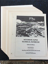 RARE!!! SPACE 1999 - MOONBASE ALPHA TECHNICAL NOTEBOOK - STARLOG 1977 ; RARE!!!