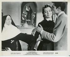 ALAIN DELON PASCALE PETIT FAIBLES FEMMES 1959 VINTAGE PHOTO ORIGINAL #3