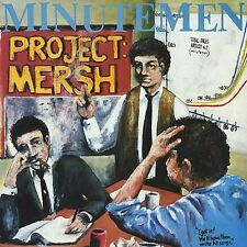 Minutemen - Project: Mersh LP - Sealed - NEW COPY - Mike Watt