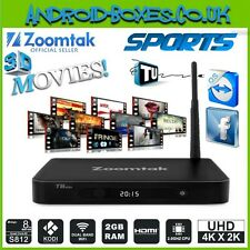 ZOOMTAK T8 PLUS 16gb QUAD CORE ANDROID 5.1 LOLLIPOP KODI NEWSEST Version