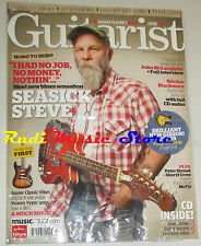 GUITARIST Magazine SEALED Ott. 2008 + CD Seasick Steve Jon McLaughlin Sherly Cro