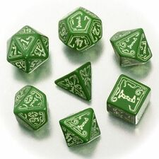 The Official Call of Cthulhu RPG Dice Set: Green/Fosfo, New, Glow in the Dark