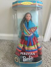 New Peruvian Barbie Dolls of the World 1999 Collector Edition Mattel 21506