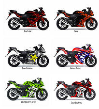 Kawasaki Ninja 250R Decal Sticker Graphic Kit 2009 - 2014 model