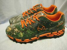 REALTREE OUTFITTERS MEN`S ATHLETIC SNEAKERS SIZE 10(4E) WIDE  NEW COBRA ORANGE