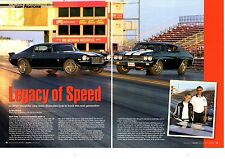 1970 CHEVROLET CAMARO SS 396 / CHEVELLE SS 454  -  GREAT 7-PAGE ARTICLE / AD
