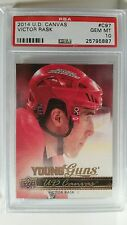 2014-15 Upper Deck Victor Rask C97 Young Guns Canvas RC PSA 10 GEM MINT