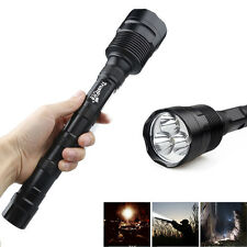 CREE XM-L T6 3 x LED 5-Mode 20000LM 18650 Outdoor Flashlight Trustfire