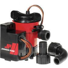 Pompe de cale AUTOMATIQUE JOHNSON COMBO L450 49L/min 12V