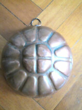 OLD COPPER JELLY MOULD