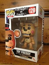 FUNKO POP! Five Nights At Freddy's TOY FREDDY #128 Exclusive Vinyl Figure NEW