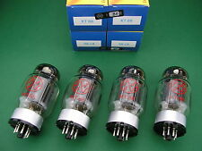 Kt88 JJ ELECTRONIC matched quad (= 4 tubes) NEUF - > tube amp