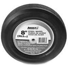 "NEW ARNOLD 490-322-0005 8"" X 1.75"" STEEL BALL BEARING LAWN MOWER WHEEL 8339269"