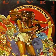 IKE & TINA TURNER 'THE WORLD OF.' US IMPORT DOUBLE LIVE LP