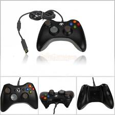 New Wired USB Game Pad Controller For Microsoft Xbox 360 Black Free Shippin