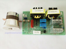 60W 28KHz Ultrasonic Cleaning Transducer Cleaner +Power Driver Board 110VAC