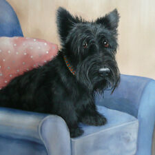 "Dogs Scottie""My Chair!""Limited edition Fine Art Print Original by Sue Barratt"