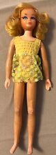 Beautiful Vintage Mod 1970 Golden Blonde Living Skipper Barbie TNT Era Mattel B2