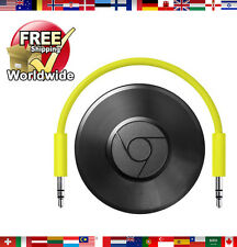Google Chromecast Audio - Black ✔ RUX-J42 ✔ BRAND NEW ✔