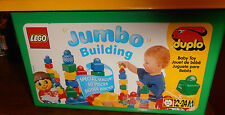 LEGO PRIMO DUPLO JUMBO Building blocks complete 50 piece set with container