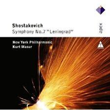 MASUR/NYPO - SINFONIE 7 LENINGRAD  CD ORCHESTER KLASSIK NEU SCHOSTAKOWITSCH