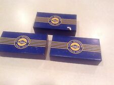 Vintage LOT Lowe poker chips in original boxes, 3 boxes