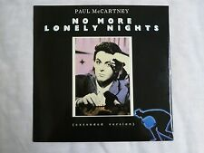 "No More Lonely Nights Extended Version Paul McCartney Vinyl 12"" 45RPM Parlophone"