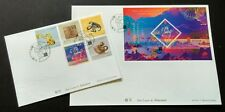 China Macau 2016 Lunar New Year Zodiac Monkey 猴 5v Stamps & SS FDC (2 covers)