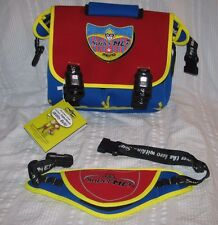 NEW NWT SuperME MESSENGER LUNCH BOX and SUPERHERO UTILITY BELT Super Me