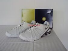 ORIGINALE Nike Shox 45 Low Classic Sneaker ALL WHITE 9,5/43 Nuovo New with box