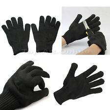 Pair de Gant Protection Acier Inoxydable Anti-Coupure Résistance Gloves NEW