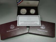 1998 Kennedy Silver Dollar Matte Finish Half Dollar Commemorative US Mint Set