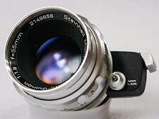 Steinheil Munchen Auto-Quinon 55mm f1.9 Lens *Near Mint Glass *Ex+ For Portraits