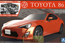 AOSHIMA TOYOTA GT86 MODEL KIT WITH FA20 ENGINE  * NEW LIMITED UK STOCK*