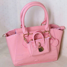 HelloKitty Messenger Cross-body  Handbag Tote Shoulder Bag 2017 New  Pu Bow Pink