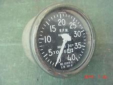 Stewart Warner 501-D RPM Tachometer M151 Military Jeep Truck Hot Rat Rod Tach