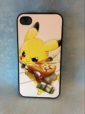 USA Seller Apple iPhone 4 & 4S  Anime Phone Case Attack on Titan & Cute Pikachu