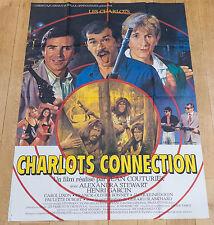Affiche de cinéma : CHARLOTS CONNECTION de JEAN COUTURIER