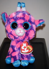 "Ty Beanie Boos ~ SKY HIGH the 6"" Giraffe  ~ 2015 European Exclusive NEW ~IN HAND"
