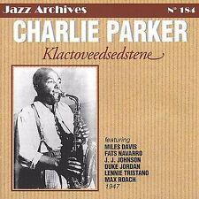 FREE US SH (int'l sh=$0-$3) NEW CD Charlie Parker: 1947 Klactoveedsedstene Impor