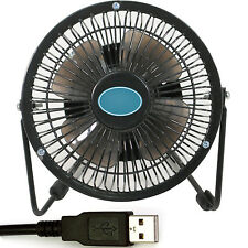 "4""  USB Mini Desk Stand Fan - Portable/Travel Keep Cool Blower - Laptop PC"