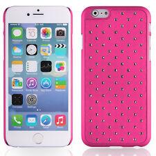 Coque rigide rose avec des strass incrustés pour iPhone 6 4,7 pouces
