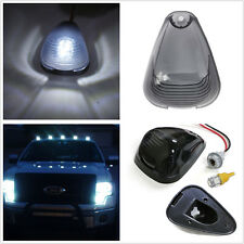 5 x Cab Marker Clearance Roof Running Light  White LED lamp & Smoked black shell