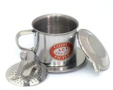 NEW Authentic Vietnamese Coffee Phin Filter Press With Gravity Insert For Ca Phe