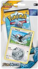 Pokemon TCG: Sun & Moon - Checklane Blister Pack + Pikipek Card & Pikachu Coin