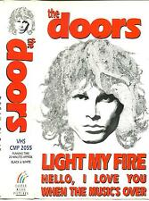 "THE DOORS - Light My Fire - Rare 1968 UK ""The Doors Are Open"" VHS Video footage"
